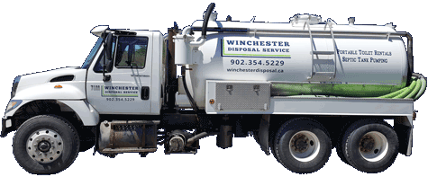 Winchester Disposal Septic Pumping & Cleaning Truck
